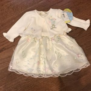 Other - Two piece NWT 9 month baby girl dress